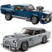 Creator Technic James Bond Aston Martin DB5 Building Blocks Set Bricks 007 Cars Model Children Toys Compatible Legoings 10262