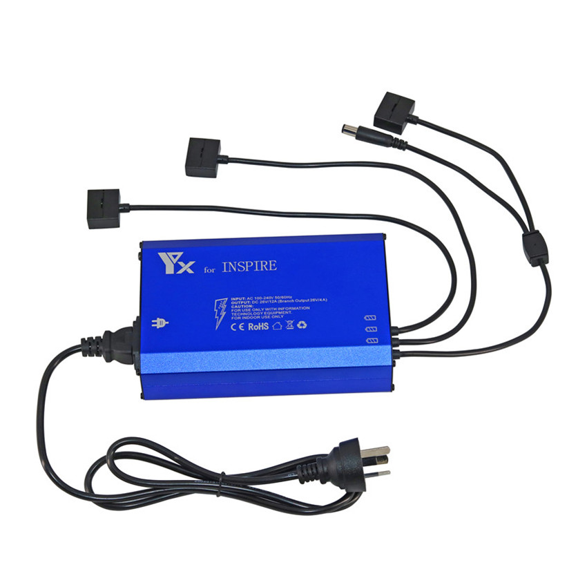 4 in 1 Intelligent Inspire 1 Charger for Battery Remote controller Smart Fast Charging Hub For