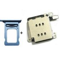 Двойной считыватель sim-карт гибкий кабель+ держатель лотка для sim-карты Замена Адаптера для iPhone XR