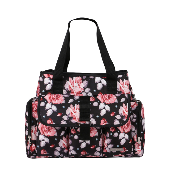 designer maternity bags a06y  Babear maternity bag for baby wet bag large fashion designer baby diaper  bags mother floral medium tote bag 2016 summer K05-in Diaper Bags from  Mother