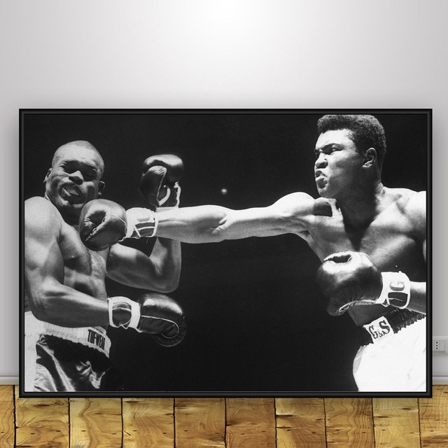 Muhammad Ali Art Silk Poster Home 12×18 24x36inch