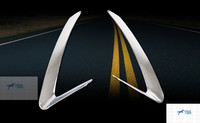 ABS Head Light Lamp Cover Trim 2PCS For Audi Q5 2009 2013