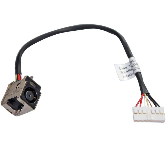 DC POWER JACK HARNESS CABLE FOR HP PAVILION DV6-6000 DV6-6135DX SERIE 640424-001