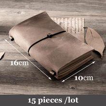 15 Pcs Traveler S Notebook Vintage Hanger Bandage Type Reiziger Dagboek Note Boek Planner Organizer Persoonlijke Creative Planner