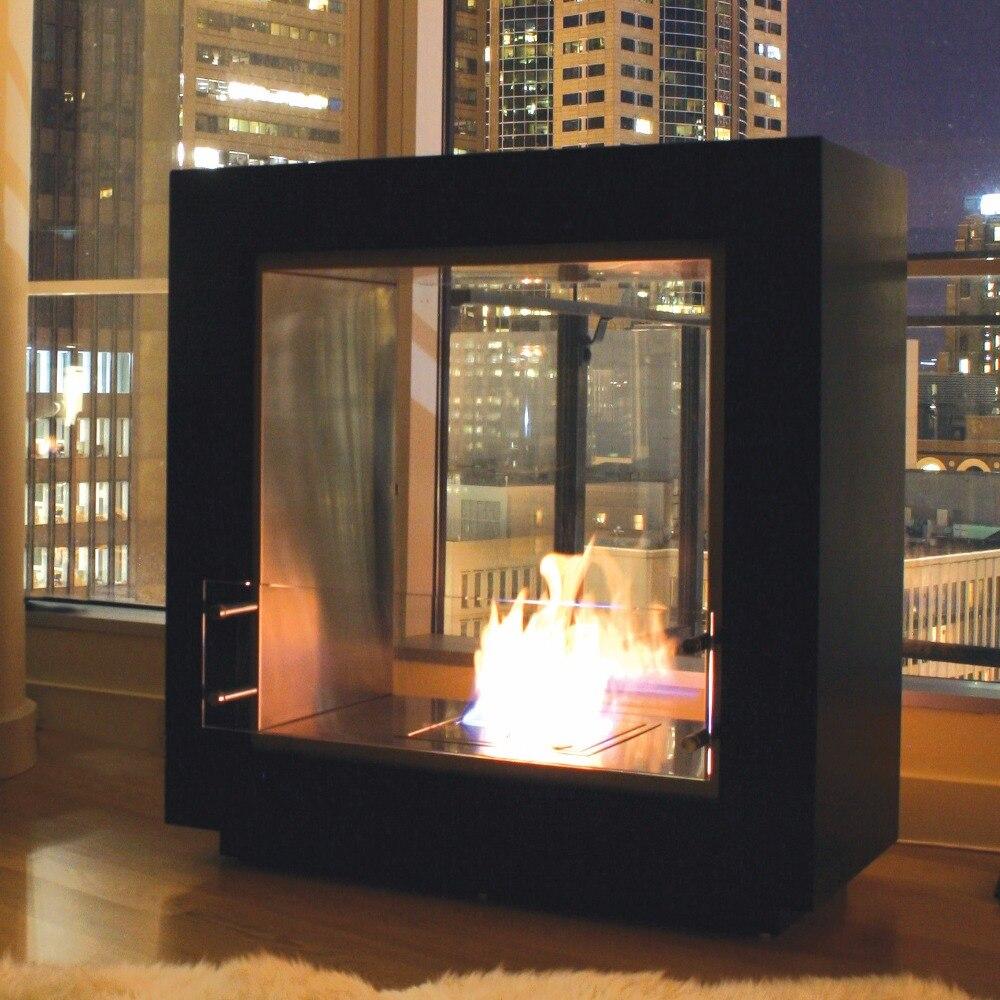 On Sale 24u0027u0027 Decorative Electric Fireplace With Ethanol Burner 5L  Bio Carmine(