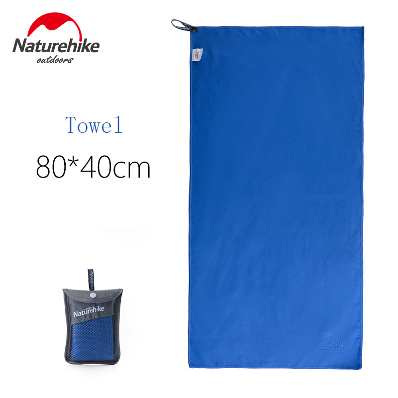NatureHike New Travel Towels Microfiber Anti-Bacterial Quick Drying Bag Face Towel For Travel Camping Outdoor Sports microfiber sports and travel towel with bag beach towels quick drying bath camping campaign tourist swimwear yoga mat 2018 new