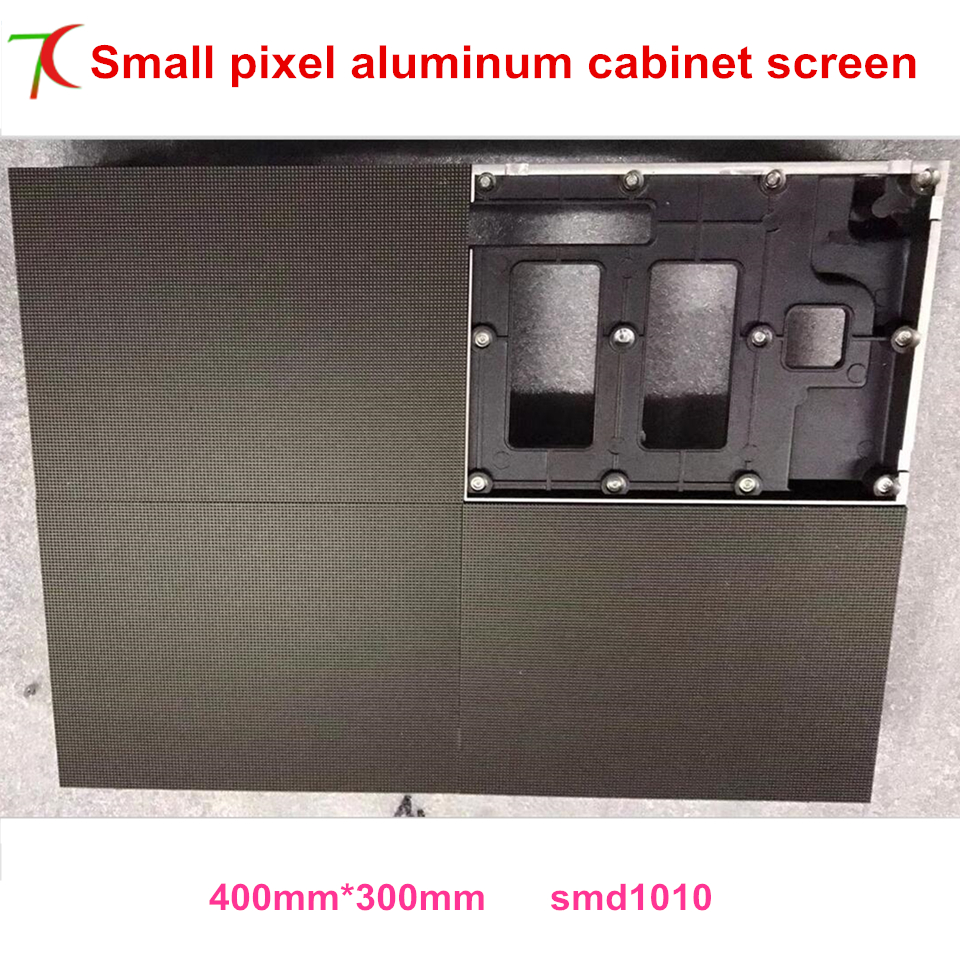 P1.667/P1.923 Indoor 400*300mm  Die-casting Aluminum Cabinet Led Display Screen ,smallest Pitch,high Definition
