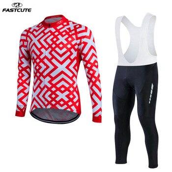 Custom made Mens primavera outono Manga Comprida Quick dry Ciclismo Jersey Define Pro Equipe bicicleta Roupas Sports Wear Para MTB