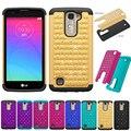 Сотовый Телефон Чехол Для LG K7 Противоударный Гибридный Броня резиновая Сверхмощная Для LG K7 Дань 5 LS675 Телефон случаях