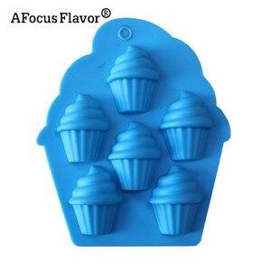 1 шт. инструменты для украшения мороженого, торта, кремовая форма для шоколада Сделай Сам силиконовой формы для выпечки мыла, помадки, кухонн...