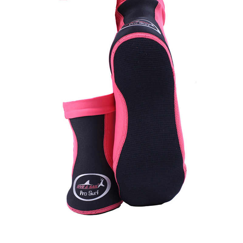 Neopreen Duiken Sokken 1.5mm Vrouwen Mannen Snorkelen Sokken voor Vinnen Volleybal Strand Sokken Water Sport Dive Zwemmen Sok