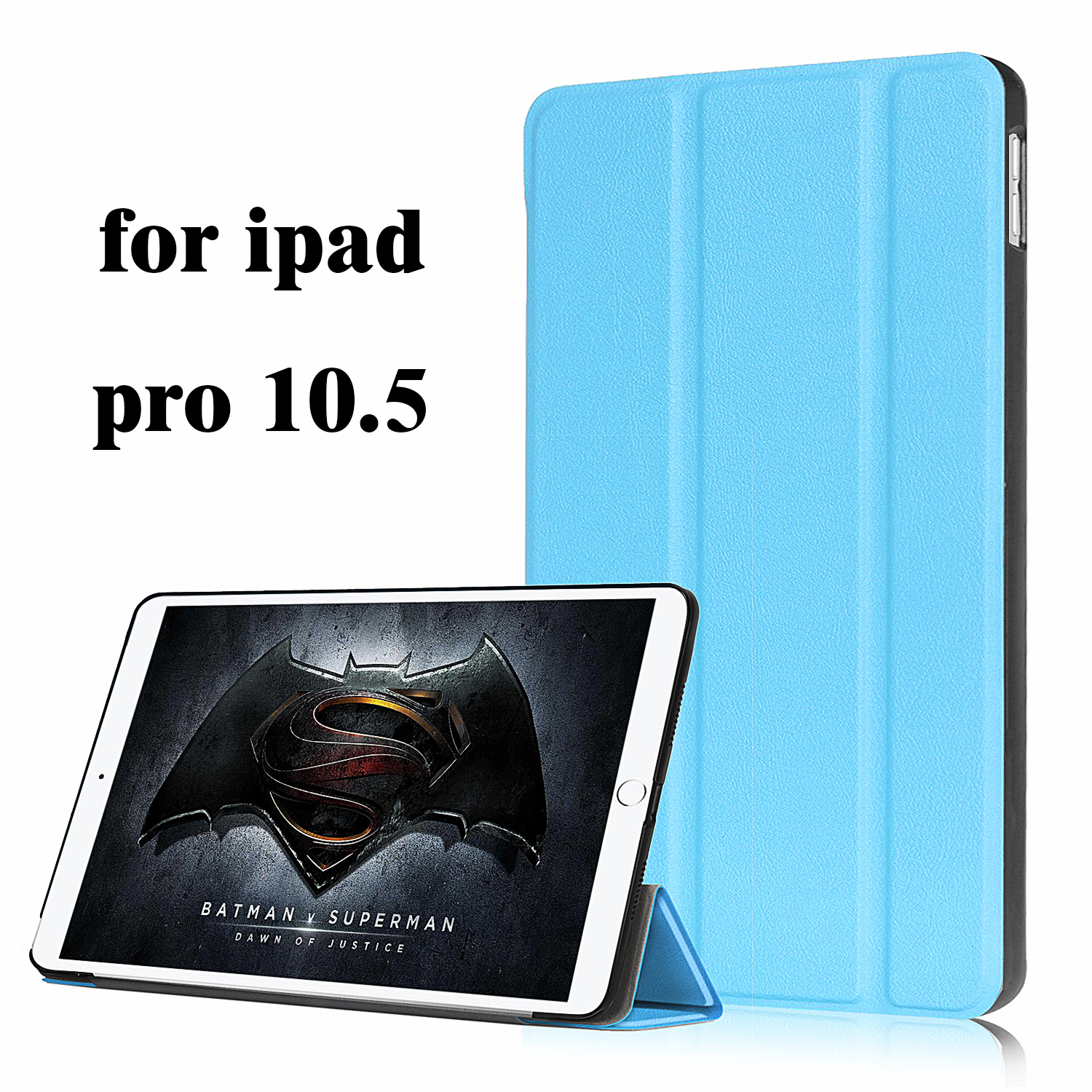 fashion Case for iPad Pro 10.5 2017, PU Leather Front Cover+PC Auto Sleep Smart case for ...