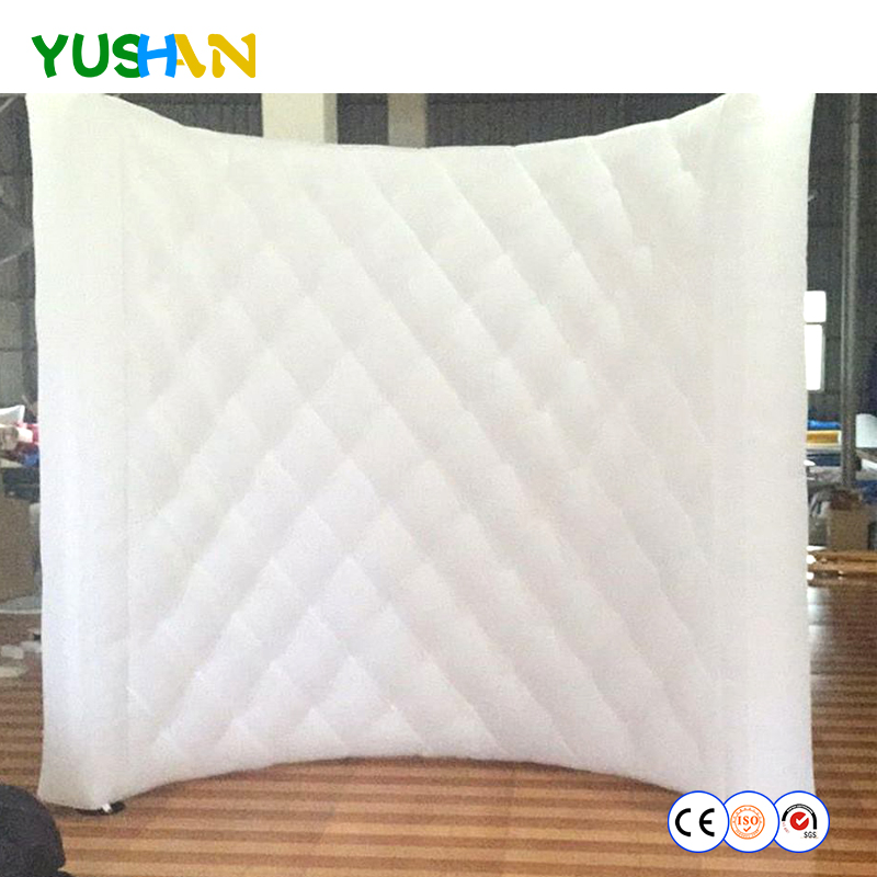 free shipping diamond painting pattern inflatable wall for rental wedding party decoration