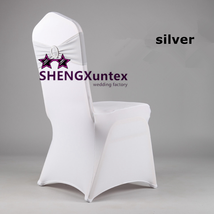 Phenomenal White Spandex Chair Cover With Silver Spandex Chair Band Machost Co Dining Chair Design Ideas Machostcouk
