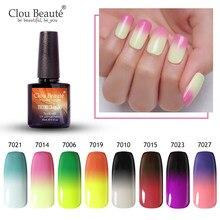 Clou beauté – vernis à ongles thermo-changeant, Gel UV à tremper, laque à température, vernis longue durée