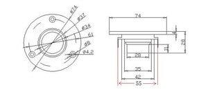 "Image 4 - 2 ピース/ロットオーディオラボハイファイシルクソフトドームスピーカーツイーターユニット 3 ""インチユニット 6 オームと 8 オームデスクトップモニターホームシアター diy"