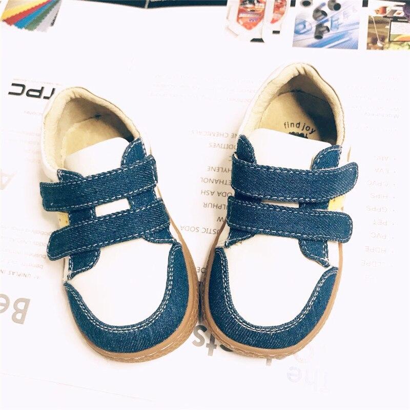 52f348ed3c 2018 Fashion designer SCHOOL boys girls leather kids shoes for boys girls  kids children shoes sneakers Blue