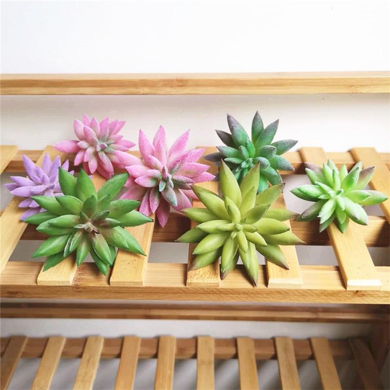 Artifical Simulation Succulent Plant Sterm Green Plant Arrangement Home Decor 1X