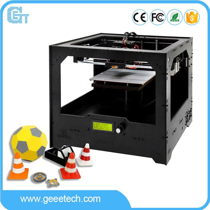 Geeetech Duplicateur 5 DIY 3D Imprimante Double-couleur Smart APP Contrôle Wi-Fi Connexion Nuage Impression Pas Cher