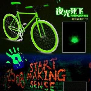 Image 5 - (Branco no dia) pó luminoso de fósforo 250g para pó de tinta brilhante diy, brilha luz no pigmento escuro, pintura do carro