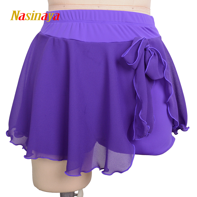 Nasinaya Figure Skating Short Skirt For Girl Kids Women Training Dress Customized Patinaje Costume Gymnastics Ice Skating 2