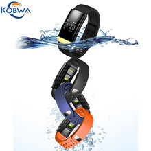 Wi-fi Bluetooth four.zero Health Good Bracelet Waterproof IP65 Coronary heart Fee Monitor Band Strap Good Wristband For IOS Android