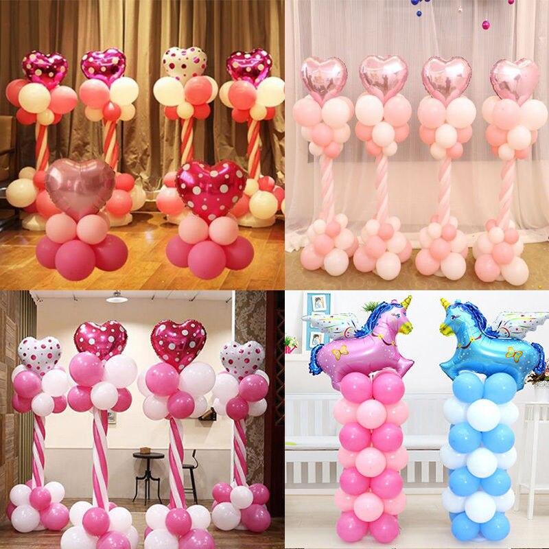 vertical de plstico inflable globos columnas de la boda arco de globos de agua rbol soporte