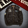 AIRGRACIAS NASA Bomber Jacket USAF Flying Jackets Winter Letterman Varsity American College Flight Jacket Men M L XL XXL