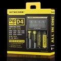 2016 Горячий Продавать в Исходном Nitecore D4 Digicharger ЖК-Дисплей Зарядное Устройство Интеллектуальное 2.0 Fit Литий-Ионный 18650 14500 16340 26650