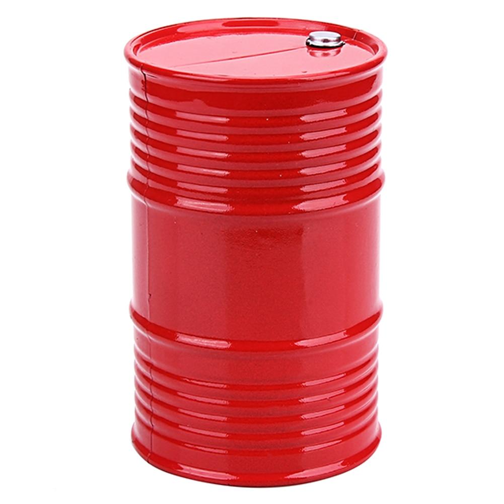 RC Rock Crawler 1:10 Accessories Plastic Oil Drum Tool for Axial SCX10 TAMIYA CC01 RC4WD D90 D110 RC Truck Car Decor Accessories