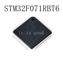10PCS/LOT STM32F071RBT6  STM32F071 RBT6 LQFP-64 NEW