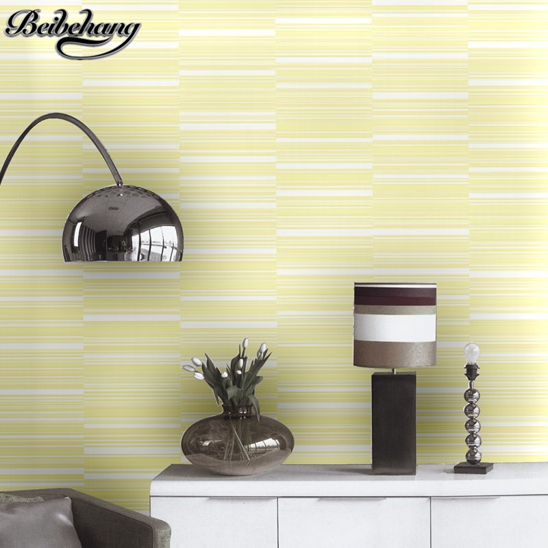 beibehang Non-woven home furnishings irregularly horizontal striped wallpaper bedroom living room restaurant study background