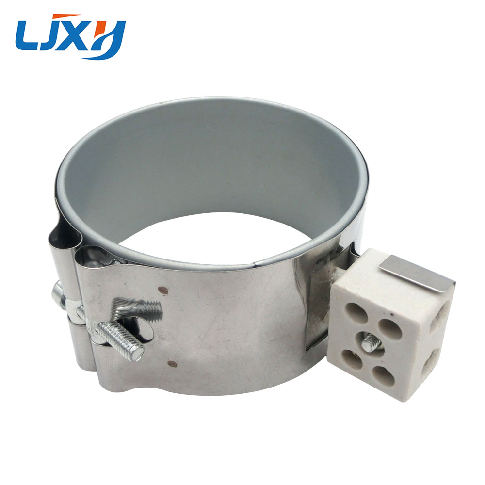 LJXH Ceramic Band Heater 110V220V380V Inner Dia.90mm Height 80mm/90mm/100mm Power 630W/710W/790W for Plastic Injection Machine