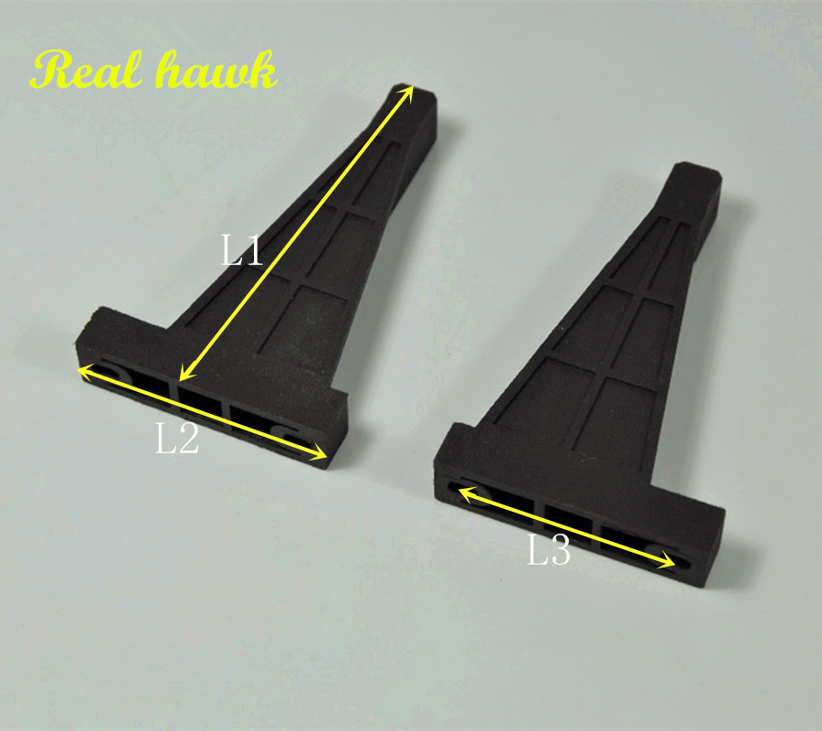 Eccentric Type Engine Bracket Plastic (L1xL2xL3) For Fixed Wing Airplane Nitro OR Gasoline Engine For RC Airplanes Parts Model rcexl 1 4 32 spark plug for engine of nitro airplane turned gasoline engine