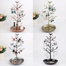 Bird Tree Jewelry Display Stand Earring Necklace Bracelet Rack Holder holder Earings