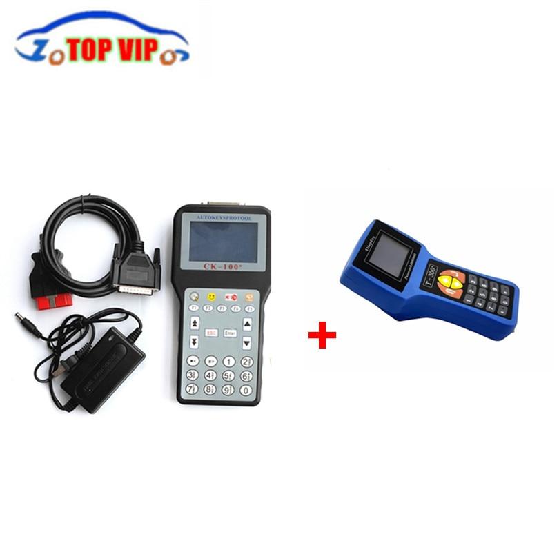 Цена за DHL бесплатные Рекламные Скидка V16.8 T300 auto Key Программист и v99.99 CK100 Ключевые Программист Т 300 + CK 100 с Mulit язык