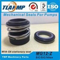 G6 /G9 고정 시트가있는 워터 펌프 용 MG12/25-G6 (MG12/25-Z)   MG12/25-G9 TLANMP Burgmann 기계식 씰