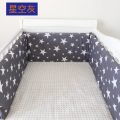 28 Styles Crib Bumpers 1pcs  Cotton Baby Bed Bumper Liner Baby Cot Sets Bed Around Protector swan Clouds star moon owl car