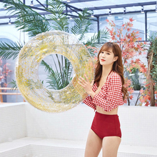70CM Sequin Pool Float Inflatable Swimming Rings Cystal Shiny Swim Ring Adult Pool Tube Circle For Swimming Pool Toys 70cm sequin pool float inflatable swimming rings cystal shiny swim ring adult pool tube circle for swimming pool toys