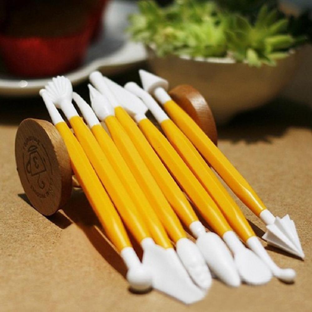 Yellow Kitchen Knife Set
