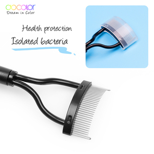 Image 3 - Docolor Make up Mascara Guide Applicator Eyelash Comb Eyebrow Brush Curler Beauty Essential Cosmetic Tool  Eye Makeup Tools