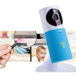 Monitor de bebé 720P HD mini cámara inalámbrica wifi ip bebé inteligente perro video seguridad dos vías tapas Audio visión nocturna