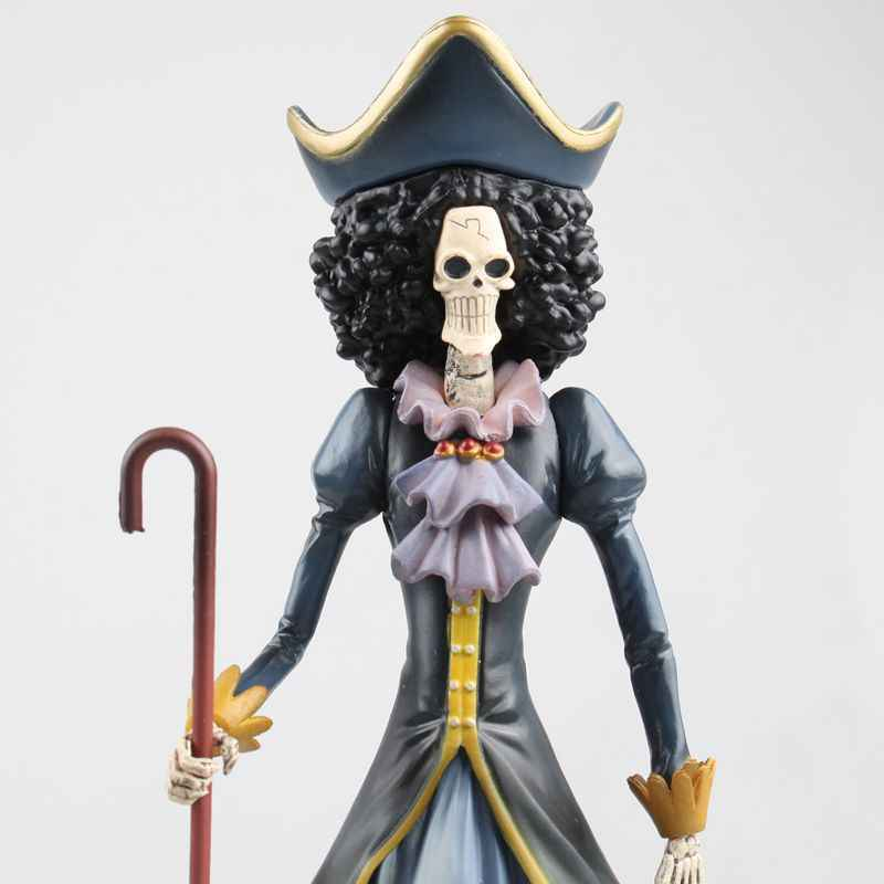Anime OnePiece 20 CM One Piece BROOK PVC Figura Collectible Modelo Brinquedos de Presente