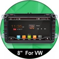 8 Android 4 2 Car Radio DVD GPS Navigation For Volkswagen VW Caddy Golf Jetta Polo