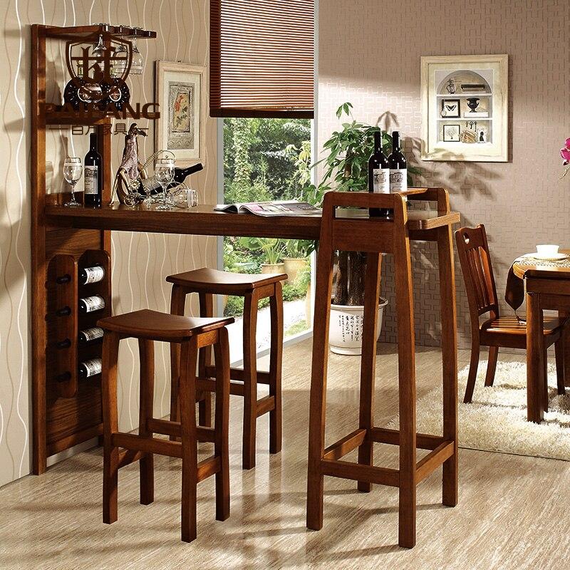 Lovely Hause Feste Holz Bar Möbel Set Bar Tisch Und Stuhl Z3036 In Hause Feste Holz  Bar Möbel Set Bar Tisch Und Stuhl Z3036 Aus Stehtische Auf AliExpress.com  ...
