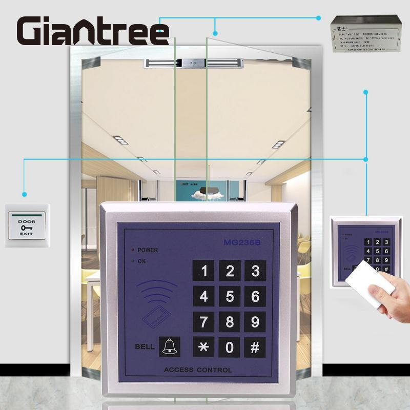 giantree IDIC One Door Access Control Machine Controller Password Card Reader with Keypad biometric fingerprint access controller tcp ip fingerprint door access control reader