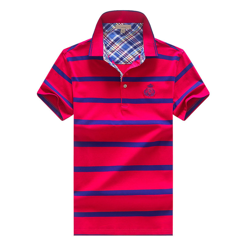 Vintage stripe design 2018 Golf Cotton Mens society shirts brands Polo Shirts embroidery camisas for men Hombre tennis shirt