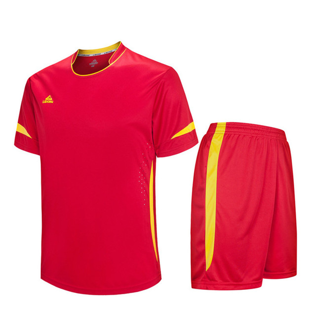 Hombres fútbol Kit deportivo fútbol establece Jersey manga corta uniformes  camisetas Futbol transpirable traje de entrenamiento 7b68658f2c3e4