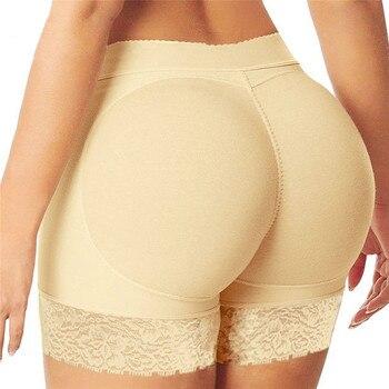Women Padded Butt Lifter Panty Modeling ...