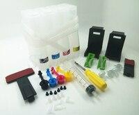 Evrensel CISS, Canon için HP CISS DIY araçları, matkap ve Emme aracı ve tüm aksesuarları ile, 4 renk, ücretsiz kargo